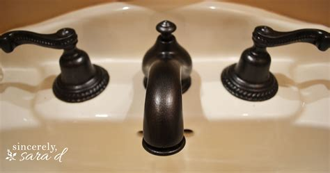 how to paint a faucet sincerely d
