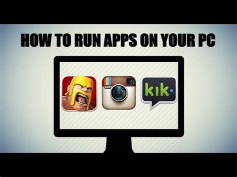 how to run iphone android apps on your pc mac