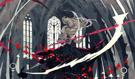 Reaper Anime Wallpaper - 1920x1125 anime dress monochrome reaper