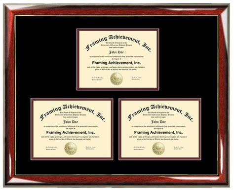 certificate frame degree framing holds  diploma
