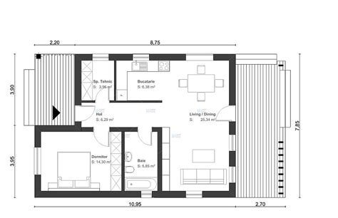 A Heavenly 2 Storey Home Under 500 Square Meters (With Floor Plan) : 3 Best House Design 60 Square Meter