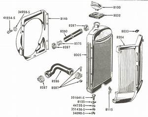Radiator Parts For Ford 8n Tractors  1947