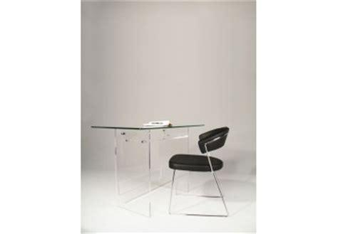 bureau en plexiglas bureaux transparents et meubles plexiglas informatiques
