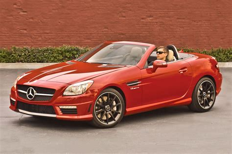 convertible mercedes used 2016 mercedes benz slk class amg slk 55 pricing for