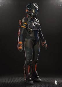 // Space suit by Leonardo Peralta / Sci-Fi - 3dtotal.com