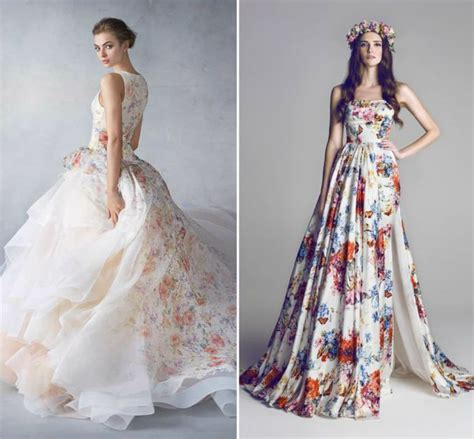 wedding dress in colors wedding dresses