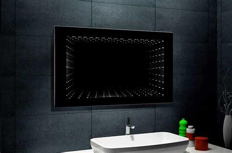 Moderne Led Badspiegel by Beleuchtung Badezimmerspiegel Mit Led Unendlichkeit 3d Effekt