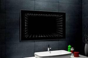 Beleuchtung Für Badspiegel : beleuchtung badezimmerspiegel mit led unendlichkeit 3d effekt beste hause ~ Markanthonyermac.com Haus und Dekorationen