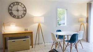 avant apres amenagement decoration d39interieur youtube With decoration interieur