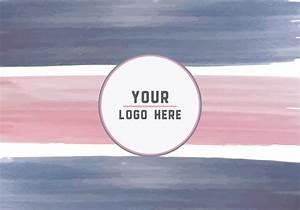 Fundo livre do logotipo Paint Strokes