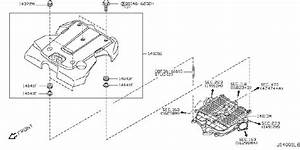 Infiniti Ex35 Engine Intake Manifold  Exhaust  Cover