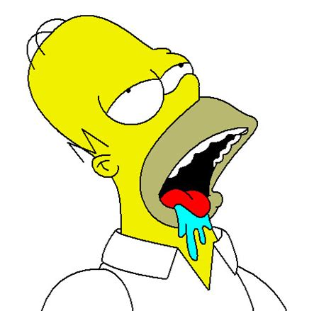 Drooling Meme - homer drooling cake ideas and designs