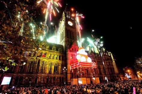 manchester lights switch on lights