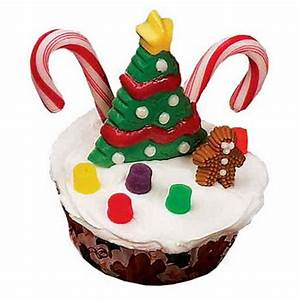 Simple and Creative Christmas Themed Cupcake Designs and ...