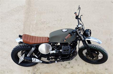 Custom Moto Guzzi Scrambler By Fiftyfive Garage