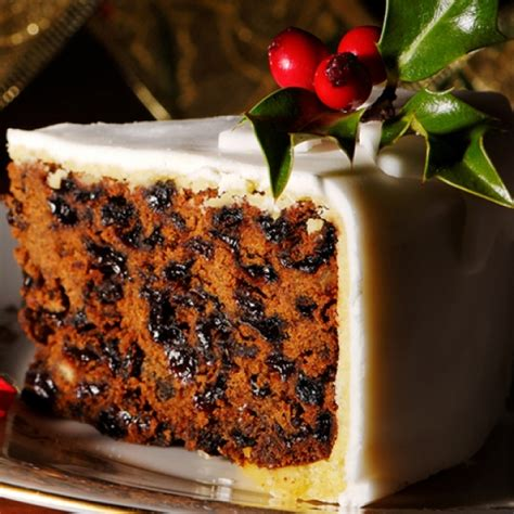 marzipan frosted christmas cake recipe