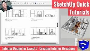 Interior Elevations In Layout From Your Sketchup Model