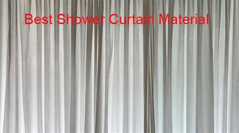 Best Shower Curtain Material-linens'n'curtains