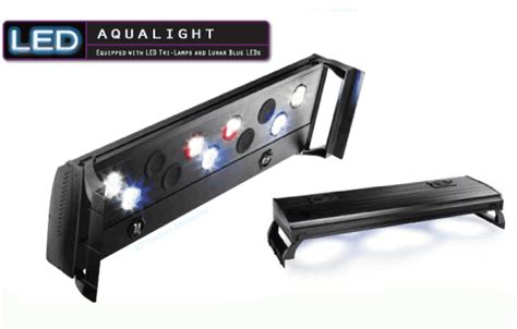 more details on the coralife aqualight led and