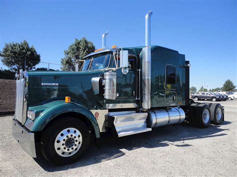 trucksales kenworth 2013 kenworth w900 sleeper semi truck for sale 429 000