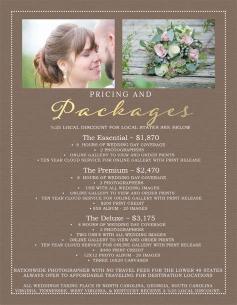 wedding photographer cost destination wedding photographer prices 2015 specials no