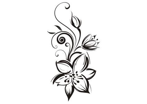 lilie vorlage wandtattoo lilienranke pflanzen wandtattoos wandschablonen wandtattooladen de