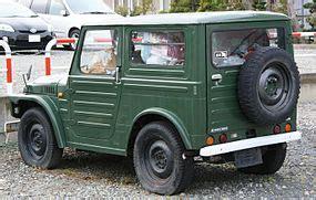 old car manuals online 1989 suzuki sj on board diagnostic system suzuki jimny wikipedia