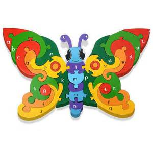 Butterfly Alphabet Educational Toys