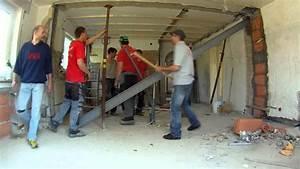 Stahlträger Tragende Wand Einsetzen : der stahltr ger youtube ~ Lizthompson.info Haus und Dekorationen