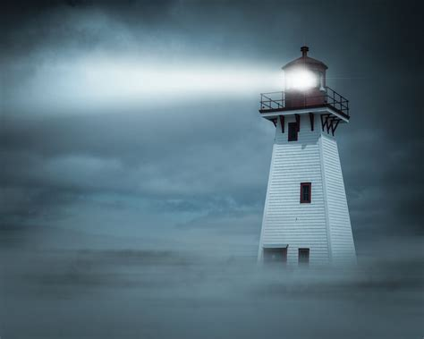 How The Light From Lighthouses Can Be Seen Miles Away