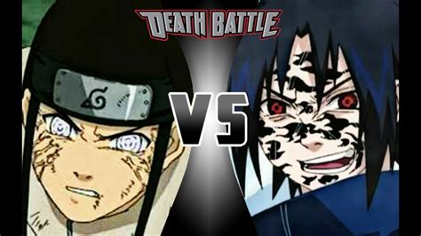Sasuke Uchiha Vs Neji Hyuga (part 1) Death Battle