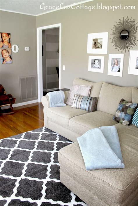 grace lee cottage  living room rug