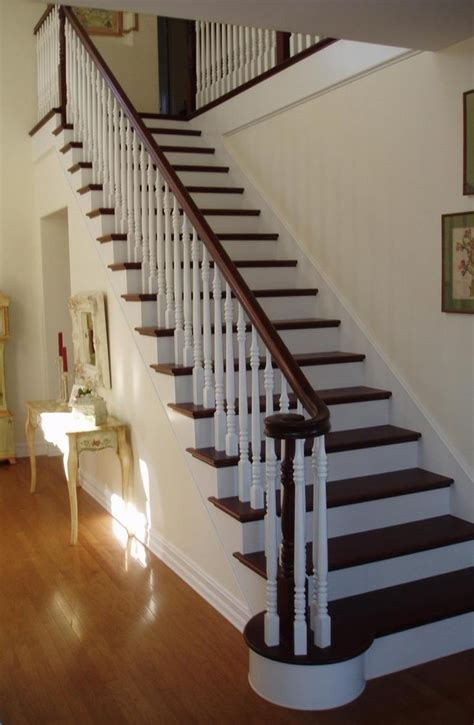 wooden banister designs 14 best images about painting stair banisters on
