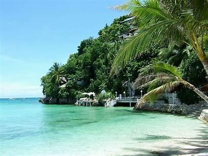 Philippines Boracay Desktop Beach Islands Nature Island