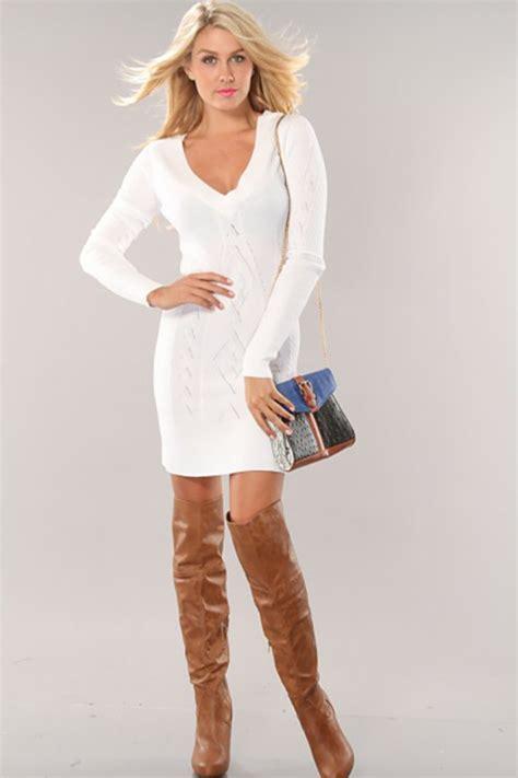 robe de chambre blanche la robe pull pour tous les styles