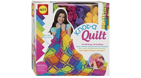 Nice Deal On Alex Toys Craft Knot A Quilt Kit