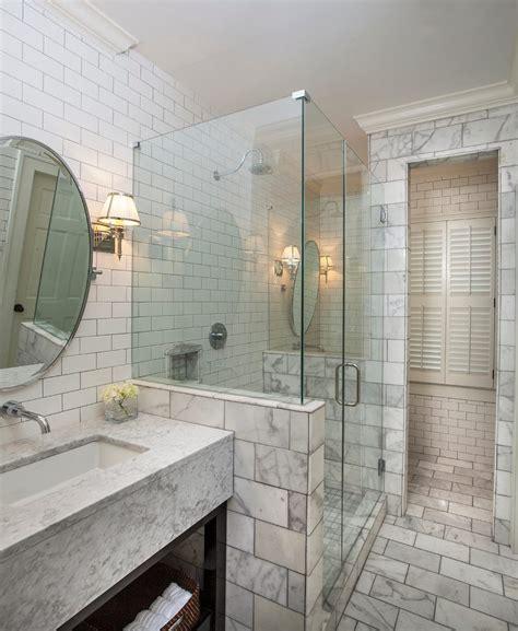 Colored Subway Tile Bathroom by Atlanta Colored Subway Tile Bathroom Transitional With