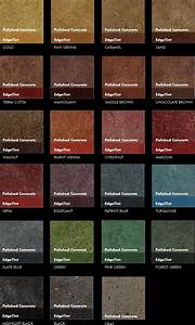 Chart View Interior Floors Color Chart Smith Art Concrete Stamp