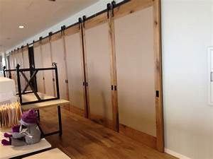 double sliding barn doors large sliding doors With barn door room separator