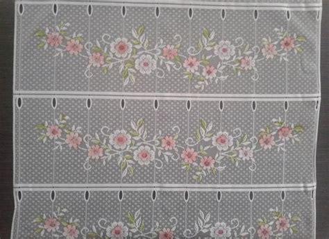 Rideau Brise-vue Coloré 60 Cm De Largeur Motif Rosie