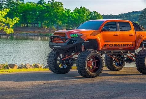 coolest lifted toyota tacoma  road wheels