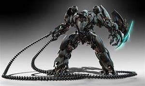 Robot design for Gnomon DVD