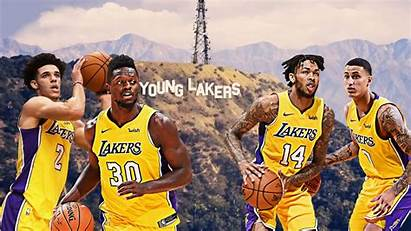 Lakers Young Core Future Bright Thanks Looks