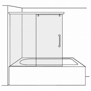 Duscholux Schiebetür 3 Teilig : duscholux bella vita 3 schiebet r 2 teilig f r badewanne 420181251551070 megabad ~ Orissabook.com Haus und Dekorationen