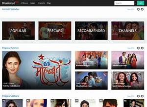Bollywood Streaming Services : Dramatize