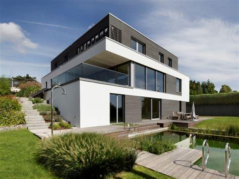 Moderne Häuser Mit Holz by Modernes Fertighaus Baufritz Haus Kieffer