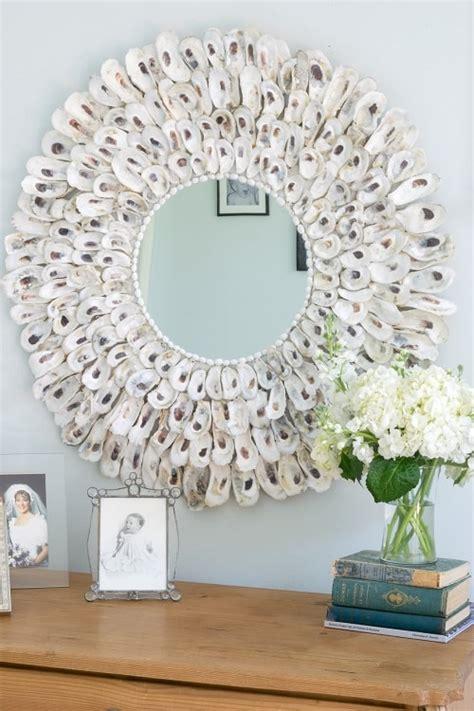 creative diy beach themed bathroom mirrors
