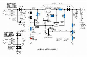 24v  36v  48v Battery Charger Circuit