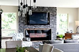 An Open Layout Renovation Antlers And Modern Farmhouse Charm