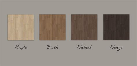 Mod The Sims   Earth Toned Walls and Floors set